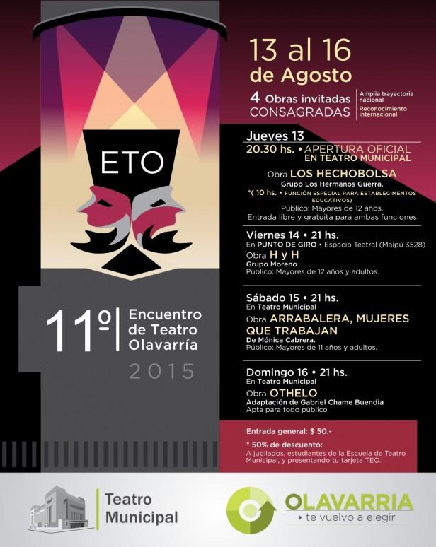 Encuentro de Teatro en Olavarría