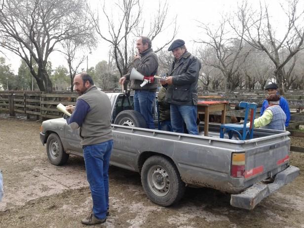 Remate de Alzaga Unzué y Cía en Olavarría