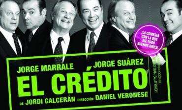"""Llega la obra """"El Crédito"""" al Teatro Municipal"""