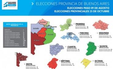 Las PASO en la Nación y la Provincia