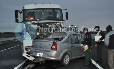 Otro fatal accidente en la Ruta 3: dos fallecidos