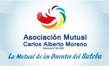 La mutual Carlos Alberto Moreno abierta a toda la población