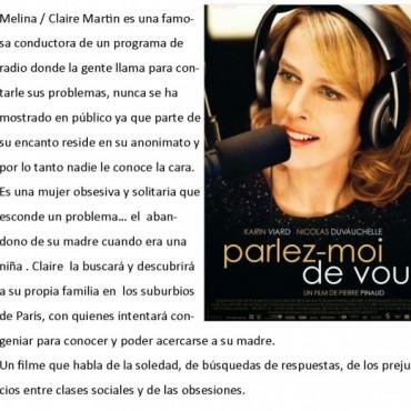Viernes de cine en la Alianza Francesa de Olavarría.