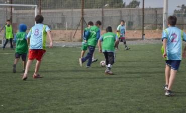 Se juega una nueva fecha del Torneo Interbarrial de Futbol