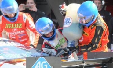 El TC entrenó y Rossi quedó arriba