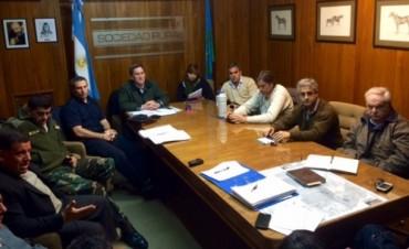 Reunión del consejo de seguridad rural