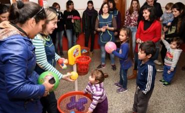 Festejo del Día del Niño en el Barrio SCAC