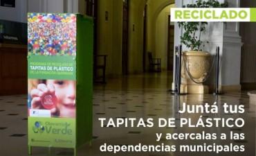 Campaña de recolección de tapitas de plástico