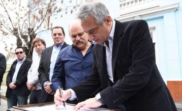 Granados y Eseverri oficializaron la puesta en marcha del Comando de Prevención Comunitaria