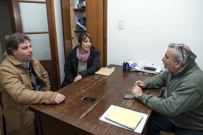 Azul: visita de las nuevas autoridades del IOMA