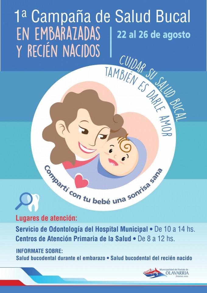 Compartí con tu bebé una sonrisa sana: primera campaña de salud bucal en embarazadas