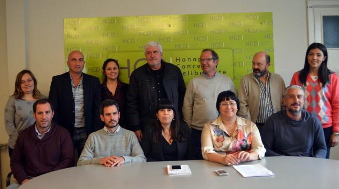Un amplio arco político anunció la charla del Juez Arias en Olavarría