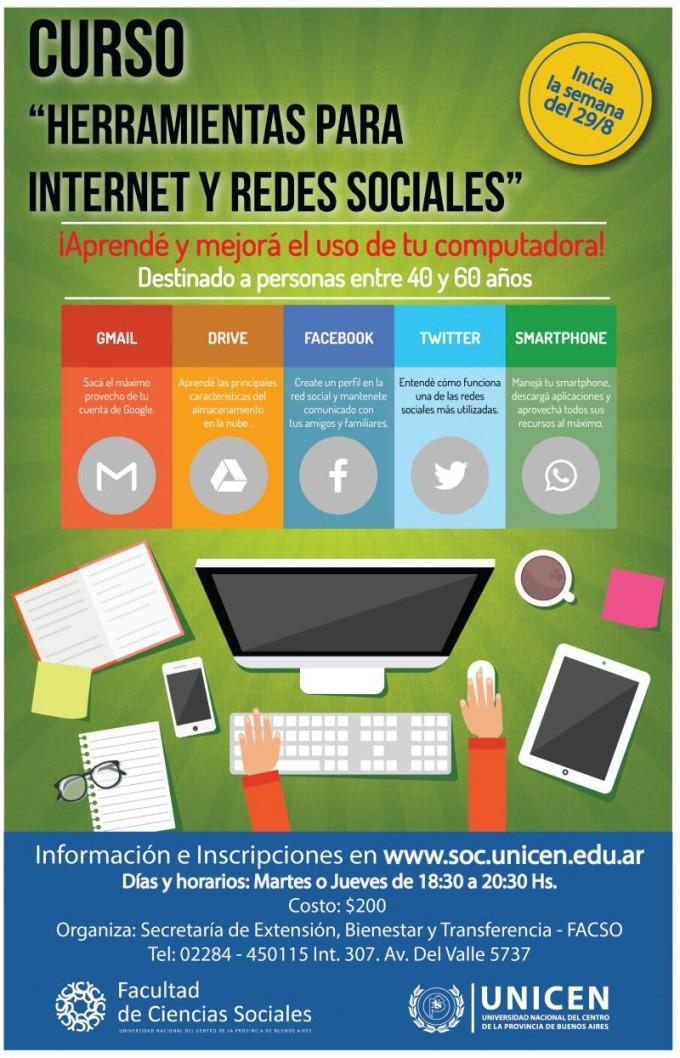 """Taller """"Herramientas para el uso de Internet y Redes Sociales"""""""