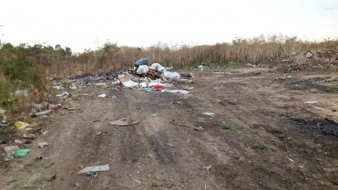 El Municipio continúa con la limpieza de basurales a cielo abierto