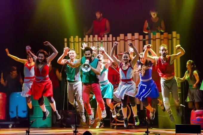 Música, teatro y danza con objetos: Choque Urbano en Olavarría