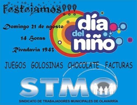 Festejo del Día del Niño en el Sindicato de Municipales