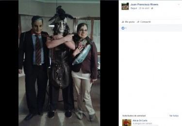 Foto polémica de un funcionario local llega a agencias provinciales