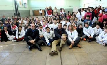 """Finocchiaro: """"Cada día de clases es importante para el presente y futuro de nuestros chicos"""""""
