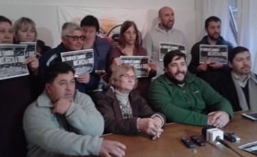 Marcha de la Multisectorial contra el 'tarifazo' en Olavarría