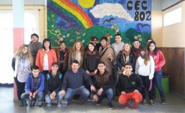Concejales Estudiantiles visitaron el CEC 802