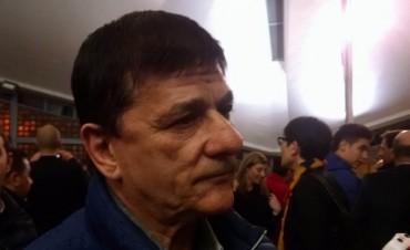 Gasparini: 'A la hora de la verdad los peronistas estamos todos juntos'