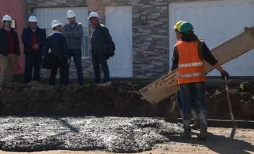 Avanzan los trabajos de pavimentación en Provincias Argentinas