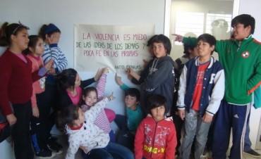Taller sobre bullying en el Centro de Día N° 1