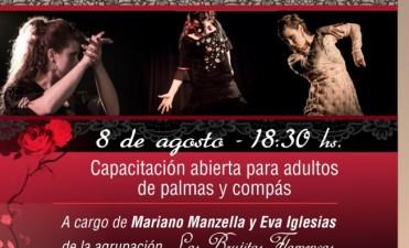 Capacitación en flamenco