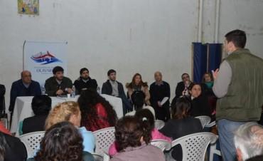 Galli en el Gabinete Itinerante: 'Sabemos que han sido los barrios más olvidados'