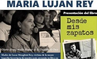 María Lujan Rey presenta en Olavarría