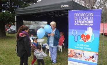 Enfermería de Atención Primaria de la Salud estuvo en la Fiesta del Día del Niño