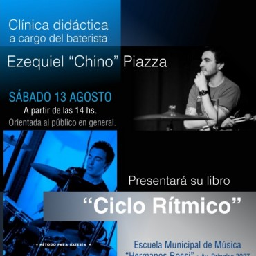 """Clínica didáctica en la Escuela Municipal de Música """"Hnos. Rossi"""""""