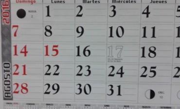 Este lunes es el feriado adelantado del 17 de agosto