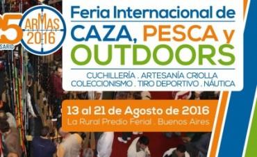 Radio Olavarría en la Feria Internacional de Caza, Pesca y Outdoors