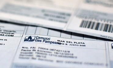 Gas: Cuatro cuotas para pagar lo no cobrado estos meses