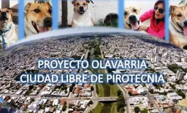 Olavarría Libre de Pirotecnia: representante de una empresa en el HCD