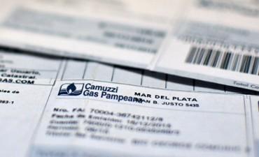 Gas: cupones para pago y audiencia pública