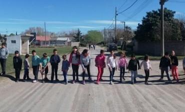 Festejo del Día del Niño en los barrios