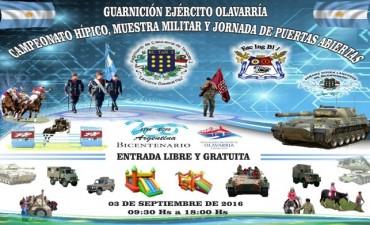 Campeonato Hípico  y Muestra Militar, este sábado en el Regimiento