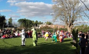 Más de 160 chicos celebraron el día del niño en el Servicio Territorial Municipal Nº 2