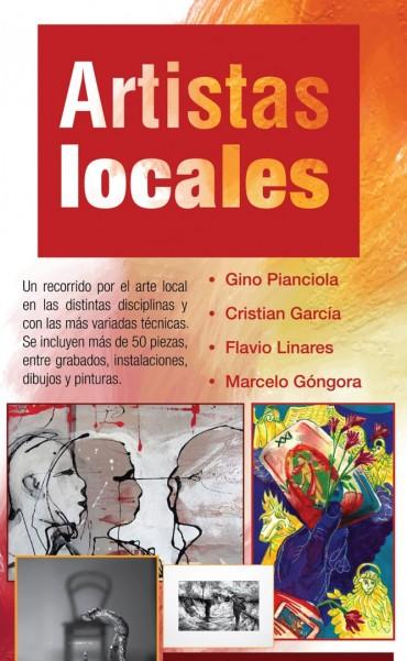 Muestra de artistas locales en el Museo Dámaso Arce