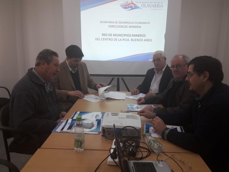 Avance en la constitución de la Red de Municipios Mineros del centro de la Provincia