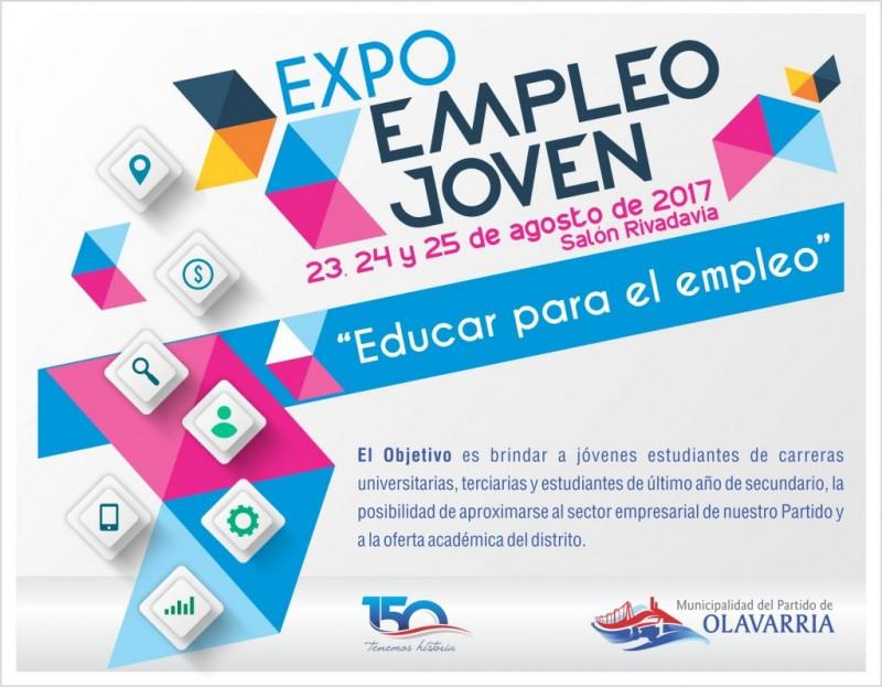 Modificaciones en el cronograma de la Expo Empleo Joven