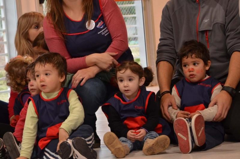 Los más chiquitos festejan el Día del Niño