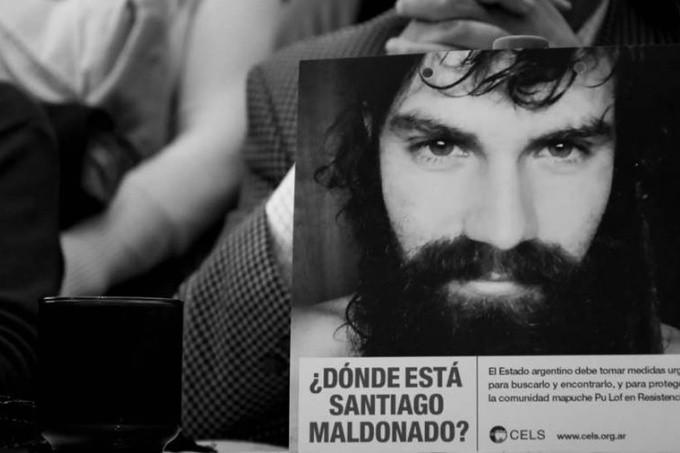 El senado bonaerense se sumó al pedido de aparición con vida de Santiago Maldonado
