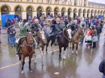 Desde Luján aclaran que no está prohibido llegar a caballo en la peregrinación