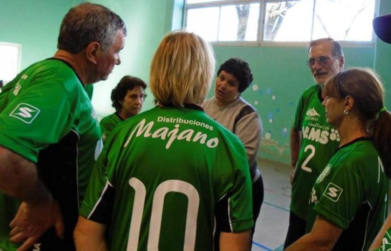 Adultos Mayores: participación en San Luis y actividad recreativa