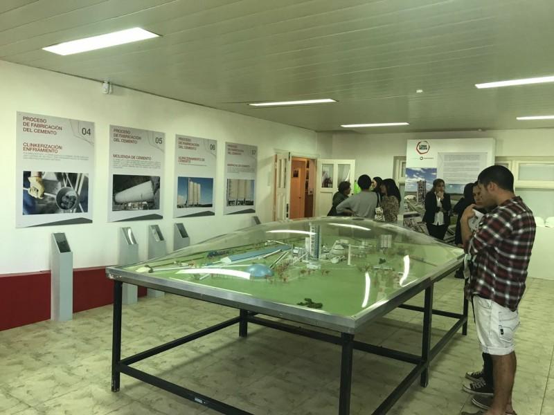 Inauguraron las muestras en Loma Negra y Colonia Hinojo