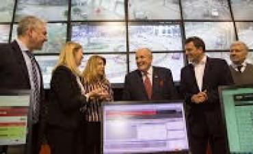 Liliana Schwindt participó del encuentro por seguridad entre Massa y Rudolph Giuliani