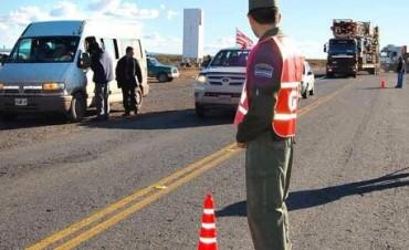 Gendarmería y Policía Federal  realizan controles en accesos a Olavarría
